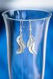 Silver Oyster Shell Earrings