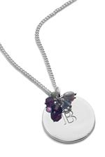 Baronessa Signature Gemstone Pendant Necklace - As seen in HELLO! and YOU Magazine